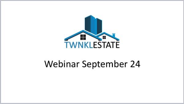 TwnklEstate Webinar